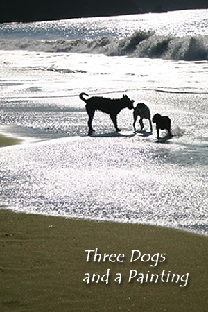 Three Dogs and a Painting